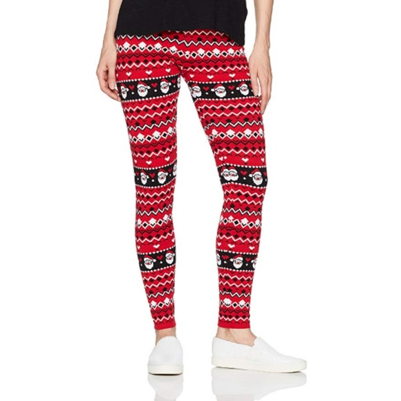Blizzard Bay Pants - Blizzard Bay Women's Ugly Christmas Leggings, M